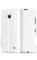 Etui Mozo Flip Cover Biały do Lumia 550