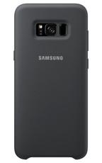 Etui Silicone Cover do Galaxy S8 Srebrno/Szary (EF-PG950TSEGWW)