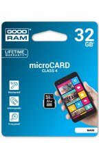 Goodram Karta pamięci microSDHC 32GB CL4