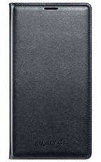 Etui Samsung Flip Wallet Czarne do Galaxy S5 EF-WG900BBEGWW