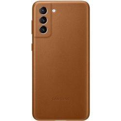 Etui Samsung Leather Cover Brązowe do Galaxy S21+ (EF-VG996LAEGWW)