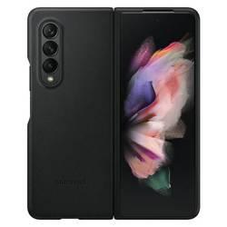 Etui Samsung Leather Cover Czarny Galaxy Z Fold3 5G (EF-VF926LBEGWW)