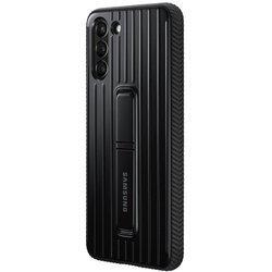 Etui Samsung Protective Standing Cover Czarny do Galaxy S21+ (EF-RG996CBEGWW)