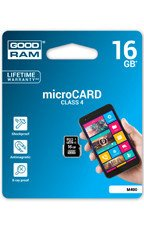 Goodram Karta pamięci microSDHC 16GB CL4