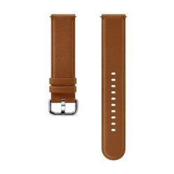 Samsung Pasek Skórzany Brązowy do Galaxy Watch Active/Active 2 20mm (ET-SLR82MAEGWW)