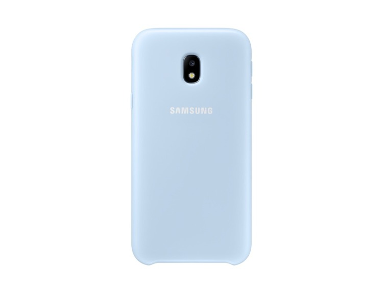 Etui Dual Layer Cover Niebieskie do Samsung Galaxy J3 (2017) EF-PJ330CLEGWW