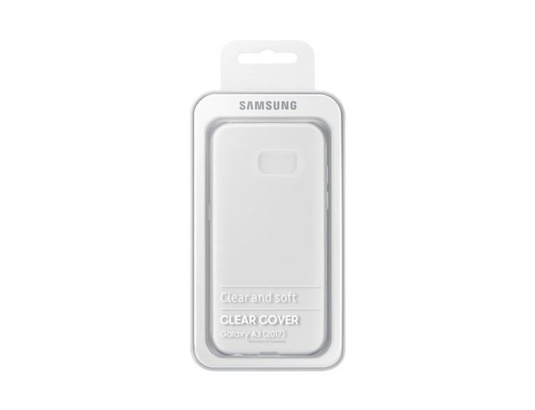 Etui Samsung CLEAR Cover Transparent do Galaxy A3 (2017) (EF-QA320TTEGWW)