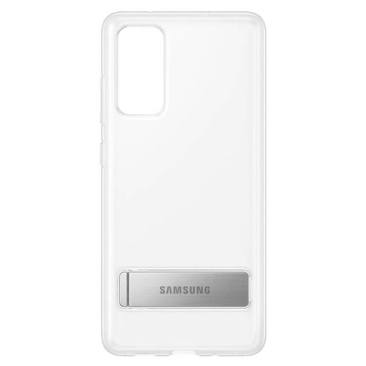 Etui Samsung CLEAR Standing Cover Transparent do Galaxy S20 FE (EF-JG780CTEGEU)