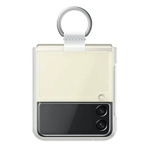 Etui Samsung Clear Cover Transparent with Ring do Galaxy Z Flip3 5G (EF-QF711CTEGWW)