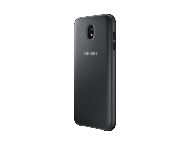 Etui Samsung Dual Layer Cover Czarne do Galaxy J7 (2017) (EF-PJ730CBEGWW)
