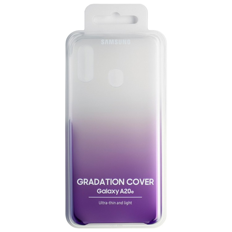 Etui Samsung Gradation Cover Fioletowe do Galaxy A20e (EF-AA202CVEGWW)