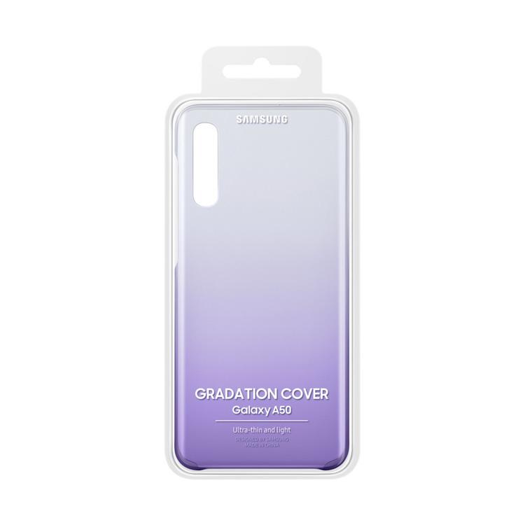 Etui Samsung Gradation Cover Fioletowe do Galaxy A50 (EF-AA505CVEGWW)