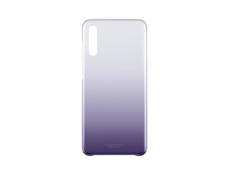 Etui Samsung Gradation Cover Fioletowe do Galaxy A70 (EF-AA705CVEGWW)