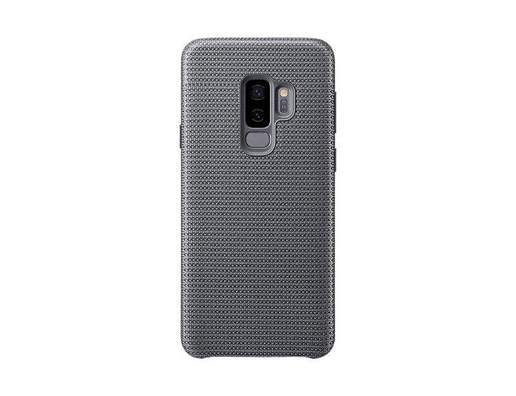 Etui Samsung Hyperknit Cover do Galaxy S9+ Szare EF-GG965FJEGWW