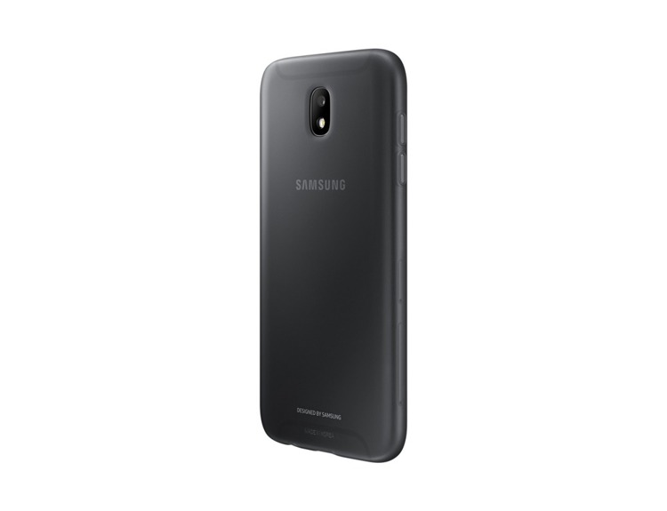Etui Samsung Jelly Cover Czarne do Galaxy J5 (2017) (EF-AJ530TBEGWW)
