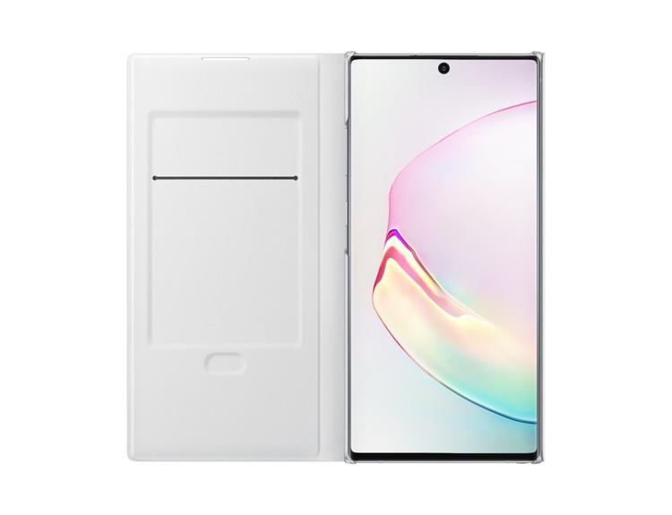 Etui Samsung LED View Cover Białe do Galaxy Note 10+ (EF-NN975PWEGWW)