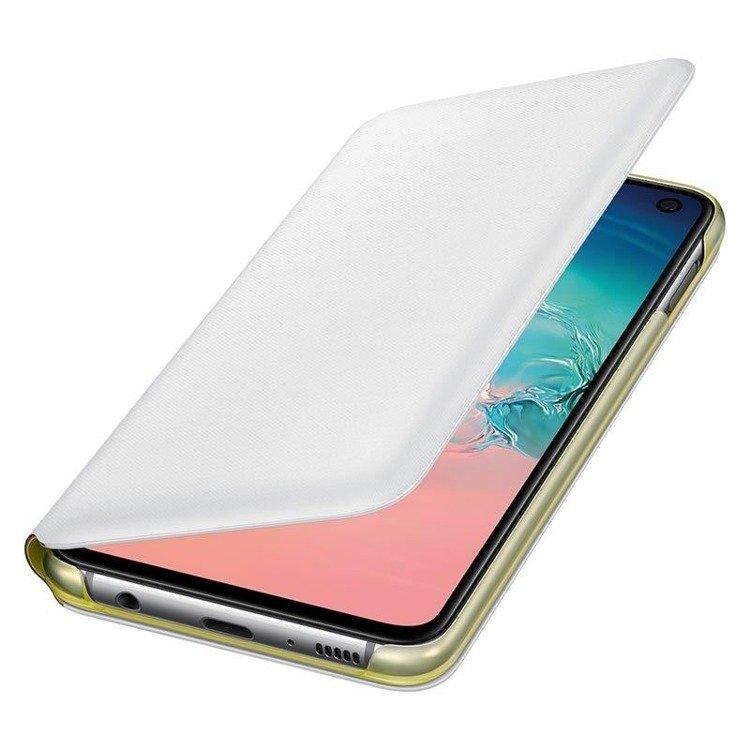 Etui Samsung LED View Cover Biały do Galaxy S10e (EF-NG970PWEGWW)