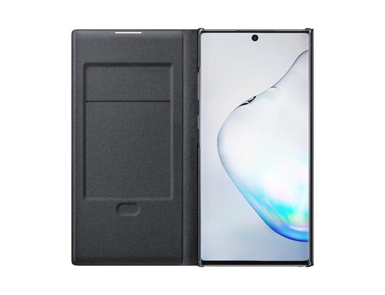 Etui Samsung LED View Cover Czarne do Galaxy Note 10+ (EF-NN975PBEGWW)