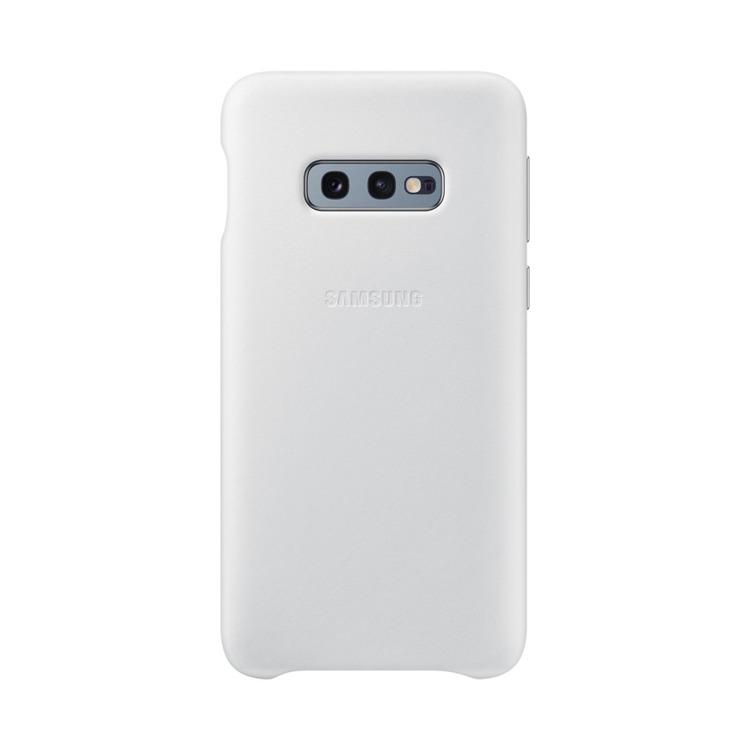 Etui Samsung Leather Cover Biały do Galaxy S10e (EF-VG970LWEGWW)