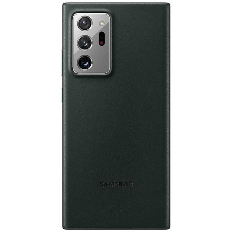 Etui Samsung Leather Cover Czarne do Galaxy Note 20 Ultra (EF-VN985LBEGEU)