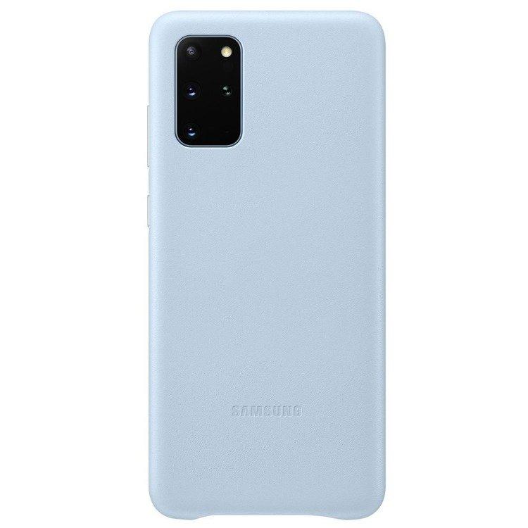 Etui Samsung Leather Cover Niebieski do Galaxy S20+ (EF-VG985LLEGEU)