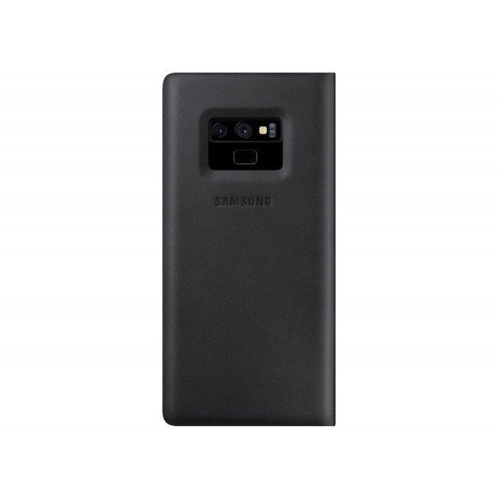 Etui Samsung Leather Wallet Cover Czarne do Galaxy Note 9 (EF-WN960LBEGWW)