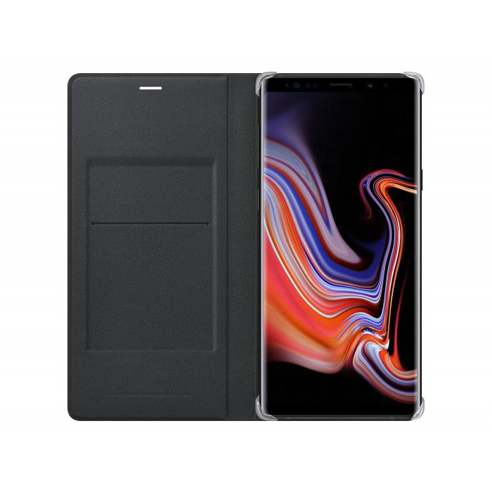 Etui Samsung Leather Wallet Cover Czarne do Galaxy Note 9 (EF-WN960LBEGWW)
