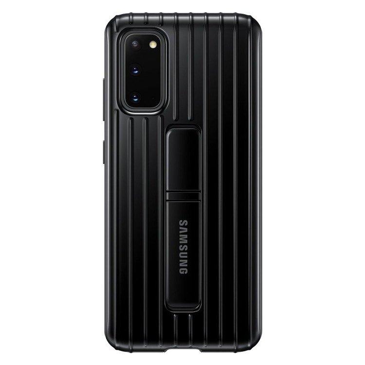 Etui Samsung Protective Standing Cover Czarny do Galaxy S20 (EF-RG980CBEGEU)