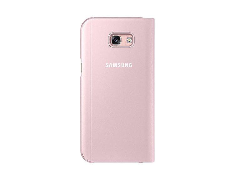 Etui Samsung S View Standing Cover Rózowe do Galaxy A5 (2017) EF-CA520PPEGWW