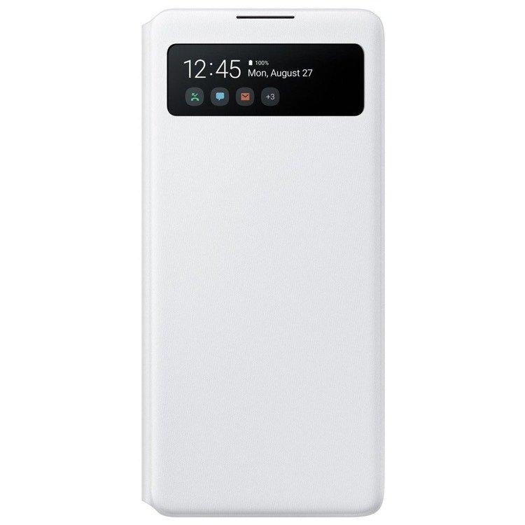 Etui Samsung S View Wallet Cover Białe do Galaxy S10 Lite (EF-EG770PWEGEU)