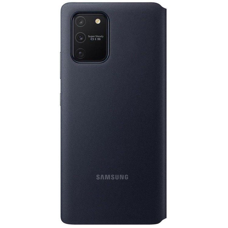 Etui Samsung S View Wallet Cover Czarne do Galaxy S10 Lite (EF-EG770PBEGEU)