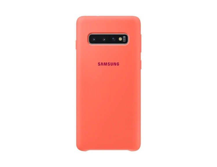 Etui Samsung Silicone Cover Pomarańczowy do Galaxy S10 (EF-PG973THEGWW)
