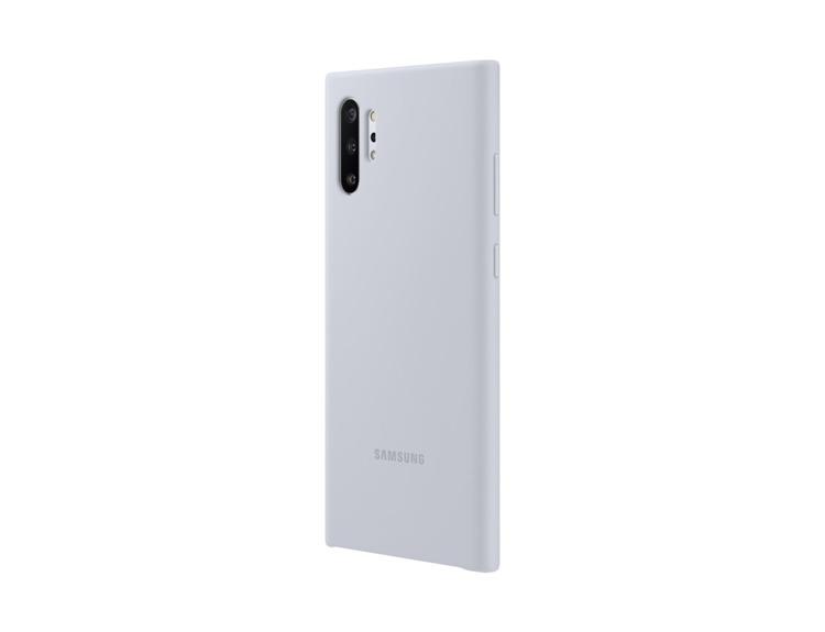 Etui Samsung Silicone Cover Szary do Galaxy Note 10+ (EF-PN975TSEGWW)