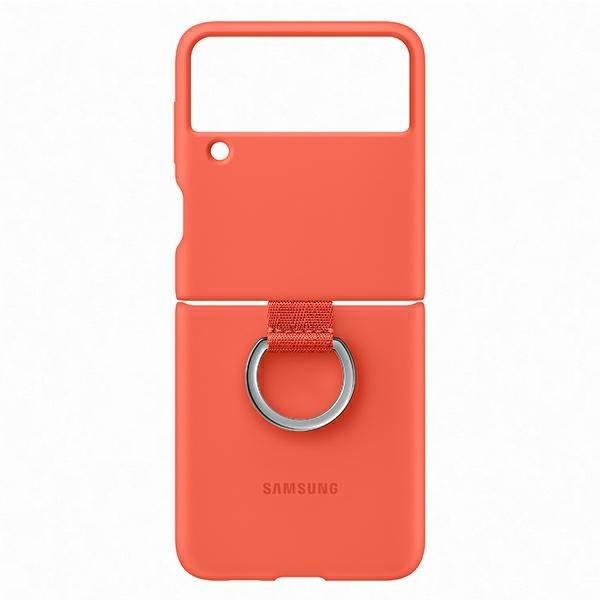 Etui Samsung Silicone Cover With Ring Coral do Galaxy Z Flip3 5G (EF-PF711TPEGWW)