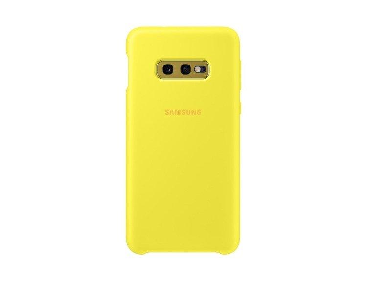 Etui Samsung Silicone Cover Zółty do Galaxy S10e (EF-PG970TYEGWW)