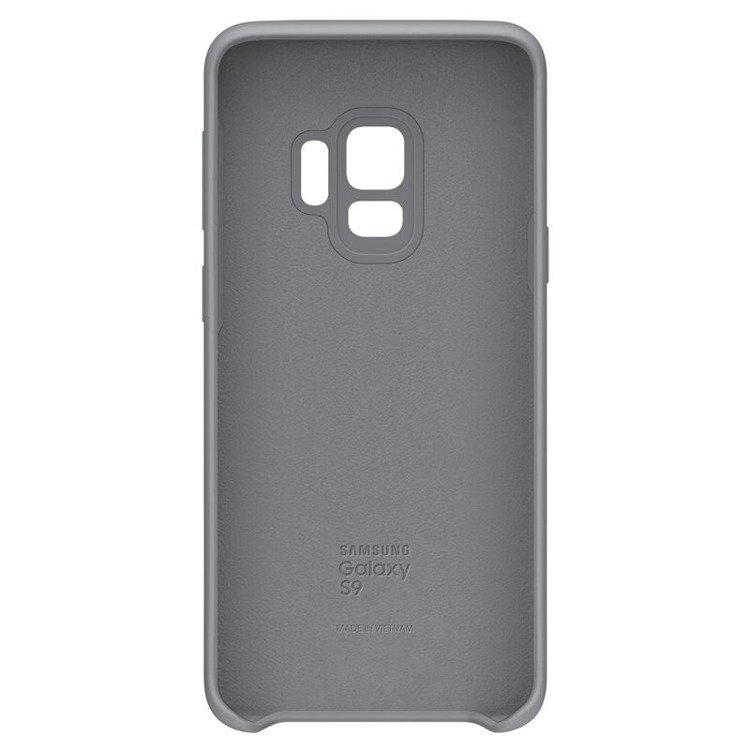 Etui Samsung Silicone Cover do Galaxy S9 Szare EF-PG960TJEGWW