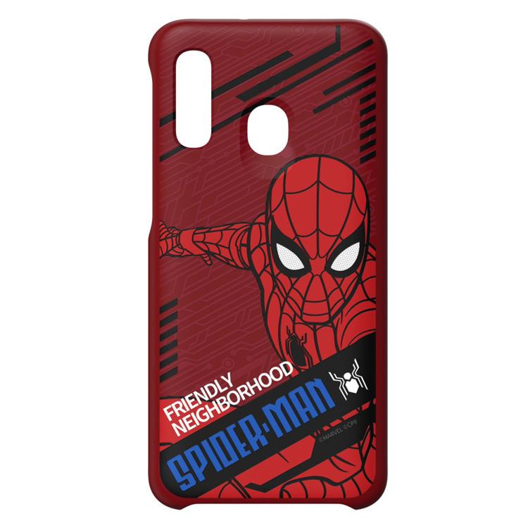 Etui Samsung Smart Cover Spiderman Dynamic do Galaxy A40 (GP-FGA405HIERW)