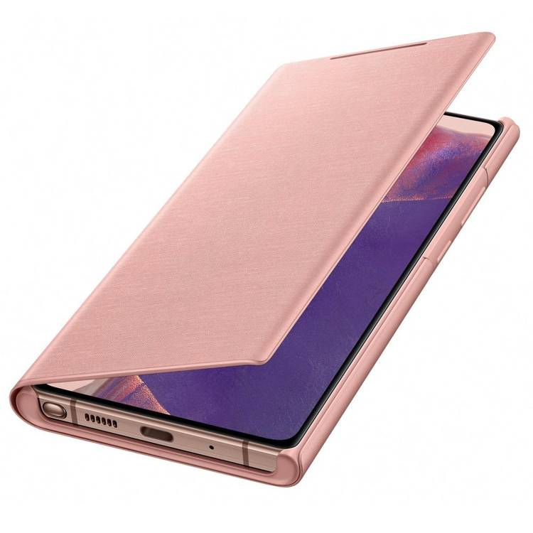Etui Samsung Smart LED View Cover Miedziany do Galaxy Note 20 (EF-NN980PAEGEU)
