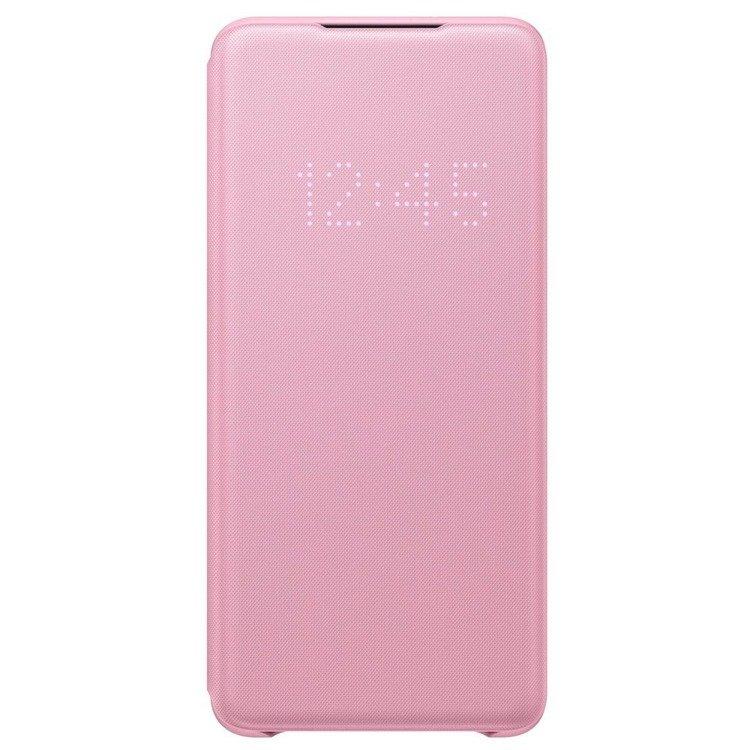 Etui Samsung Smart LED View Cover Różowy do Galaxy S20+ (EF-NG985PPEGEU)