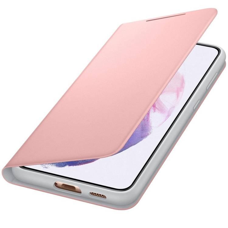 Etui Samsung Smart LED View Cover Różowy do Galaxy S21+ (EF-NG996PPEGEW)