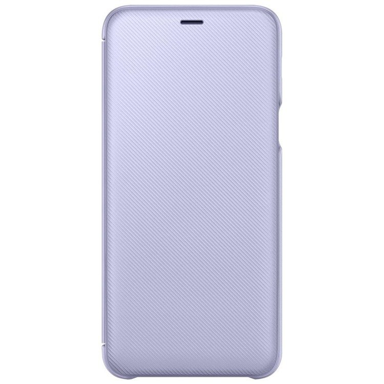 Etui Samsung Wallet Cover Fioletowe do Galaxy A6+ (EF-WA605CVEGWW)