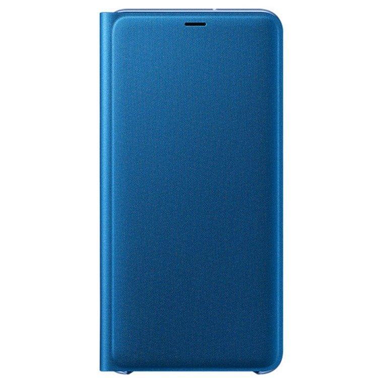 Etui Samsung Wallet Cover Niebieskie do Galaxy A7 (2018) EF-WA750PLEGWW