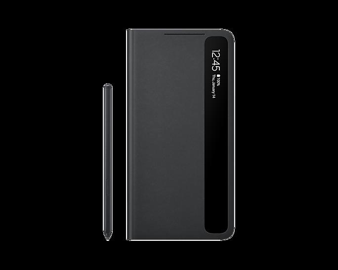 Etui Smart Clear View Cover z rysikiem S Pen dla Galaxy S21 Ultra 5G (EF-ZG99PCBEGEE)