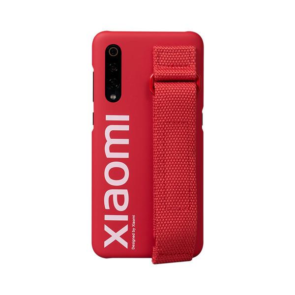 Etui oryginalne Xiaomi Urban Hand Strap Case Red do Xiaomi Mi 9 czerwone