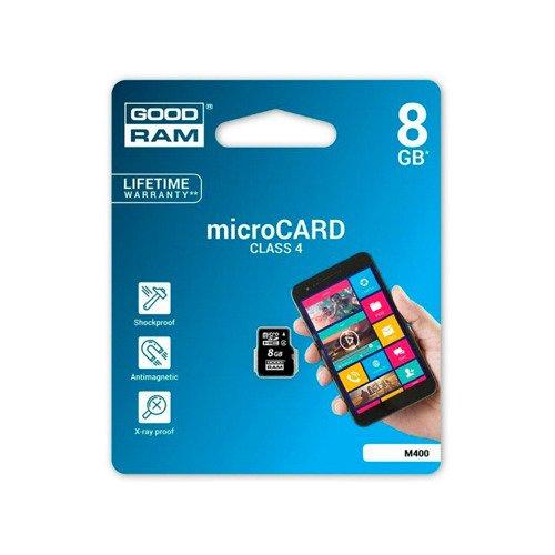 Goodram Karta pamięci microSDHC 8GB CL4