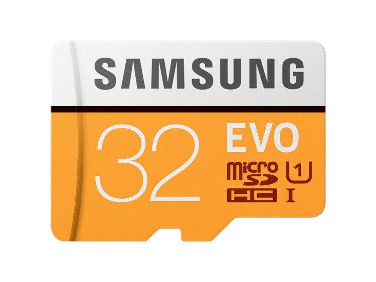Karta pamięci Samsung MicroSDHC UHS-1 EVO 32GB class 10 + adapter MP32GA/EU