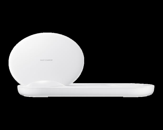 Ładowarka Samsung Wireless Charger Duo Biała (EP-N6100TWEGWW)