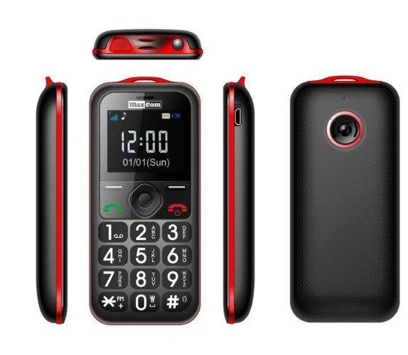 MaxCom MM560BB Czarno/Czerwony
