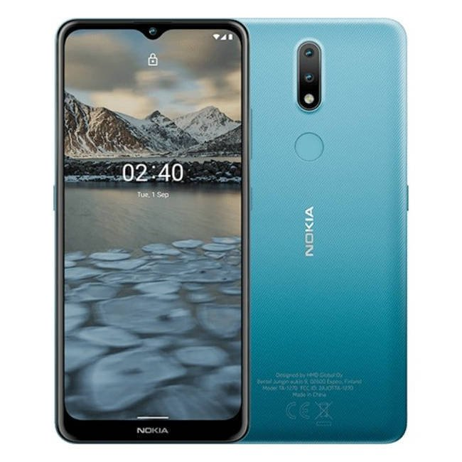 NOKIA 2.4 Dual SIM Niebieska 2/32GB