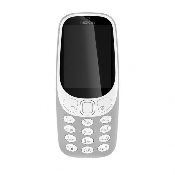 NOKIA 3310 Single SIM Szara